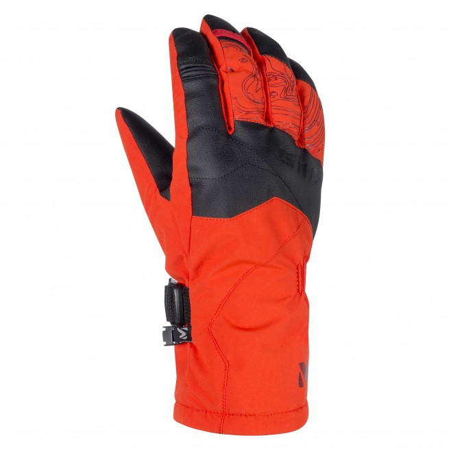 Handschuhe für Herren - Ski - Orange ATNA PEAK DRYEDGE GLOVE Millet