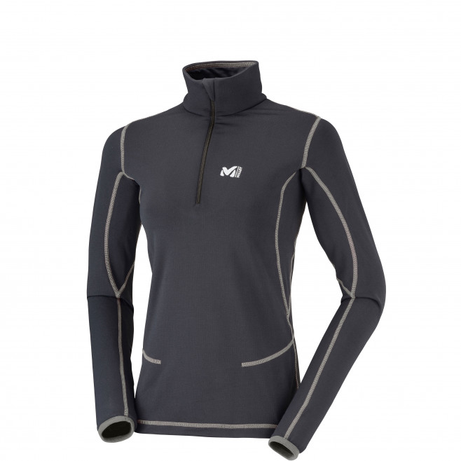 Microfleece für damen - schwarz LD TECH STRETCH TOP Millet