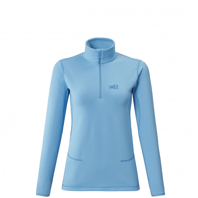 Microfleece für Damen - blau TECH STRETCH TOP W Millet