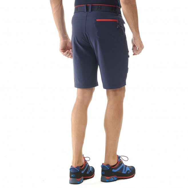 Short für Herren - marineblau TRILOGY ONE CORDURA SHORT M  Millet 3
