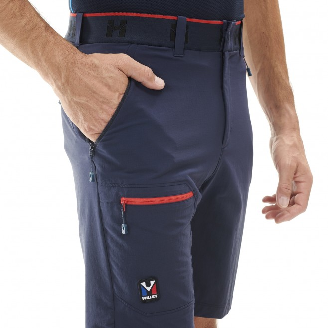 Short für Herren - marineblau TRILOGY ONE CORDURA SHORT M  Millet 5