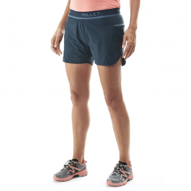 Short für damen - trailrunning - marineblau LD LTK INTENSE SHORT Millet 6