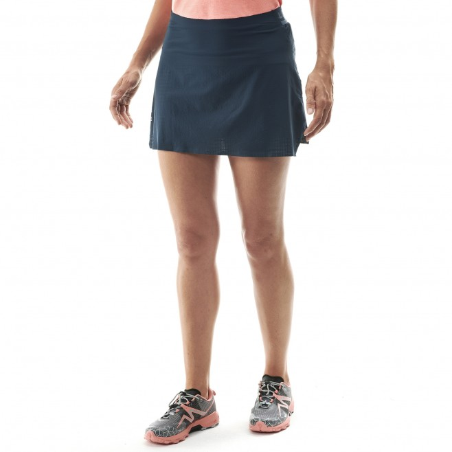 Rock für Damen - marineblau LTK ULTRA LIGHT SKIRT W  Millet 2