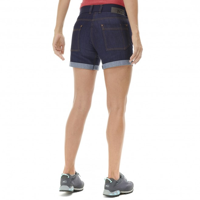 Short für Damen - marineblau ROCAS BIO DENIM SHORT W  Millet 3