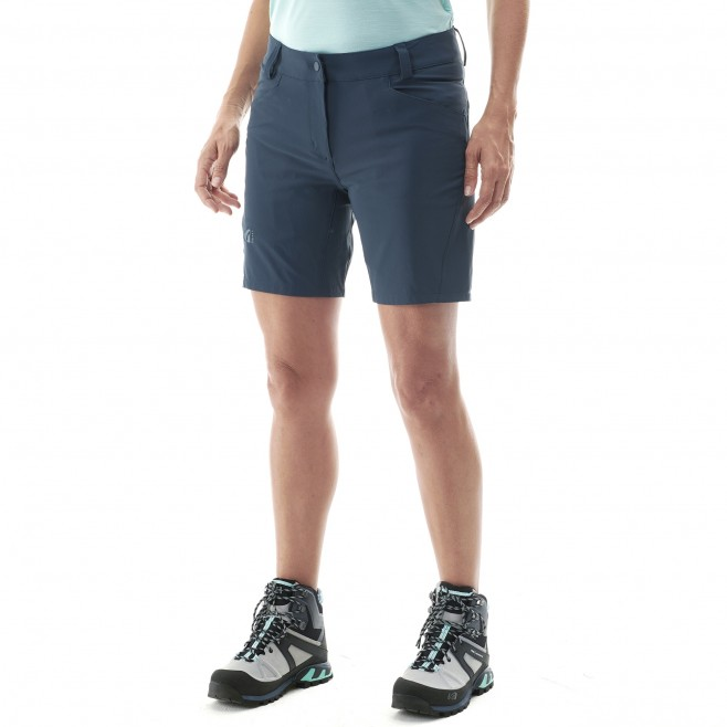 Short für Damen - blau TREKKER STRETCH SHORT II W  Millet 2