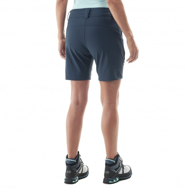 Short für Damen - türkis TREKKER STRETCH SHORT II W  Millet 3