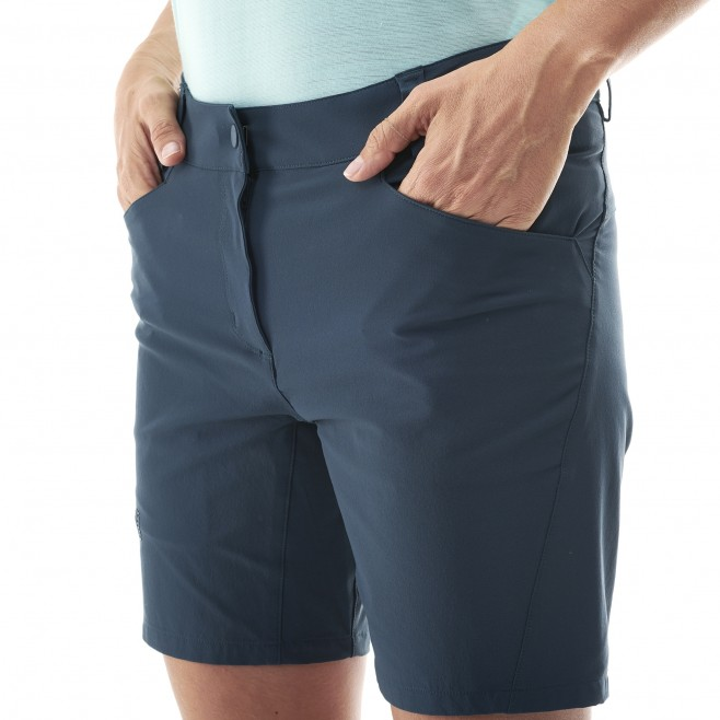 Short für Damen - blau TREKKER STRETCH SHORT II W  Millet 4