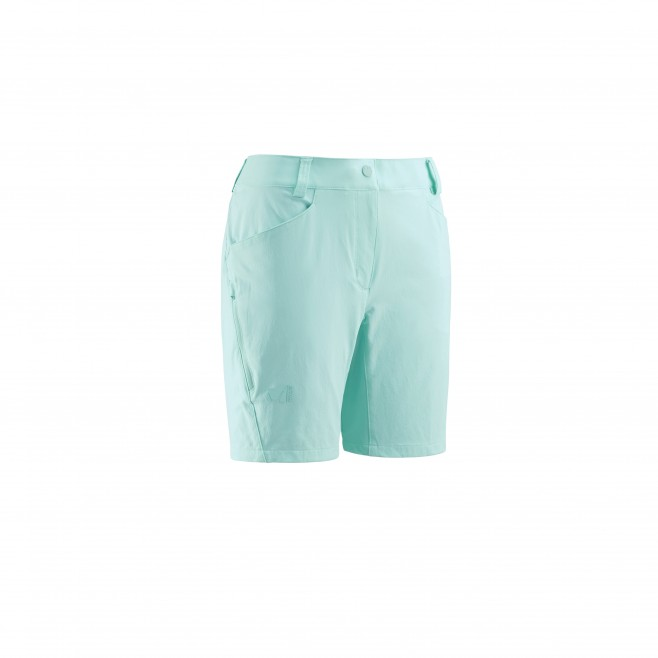 Short für Damen - türkis TREKKER STRETCH SHORT II W  Millet