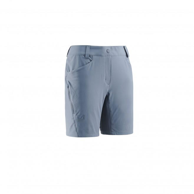Short für Damen - blau TREKKER STRETCH SHORT II W  Millet