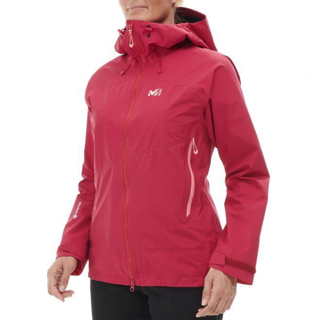 Gore-Tex jacke für Damen - rot ELEVATION GTX ACTIVE JKT W  Millet 3