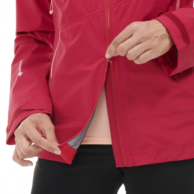 Gore-Tex Jacke für Damen  - rot ELEVATION GTX ACTIVE JKT W Millet 7