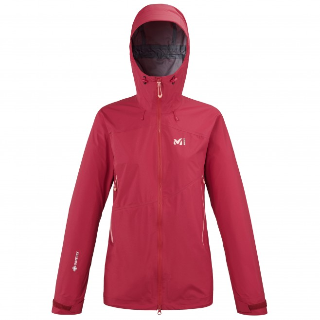Gore-Tex Jacke für Damen  - rot ELEVATION GTX ACTIVE JKT W Millet