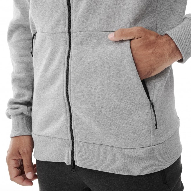 Urban look Sweatshirt für Herren - marineblau REPERCUTE HEAVY SWEAT HOODIE M Millet 4