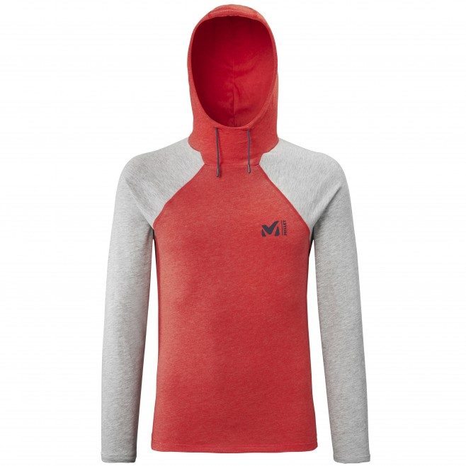Tee-shirt für Herren - rot RED WALL LIGHT HOODIE M  Millet