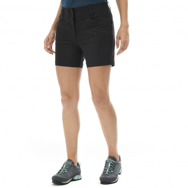 Short für Damen - schwarz WANAKA STRETCH SHORT II W  Millet 2