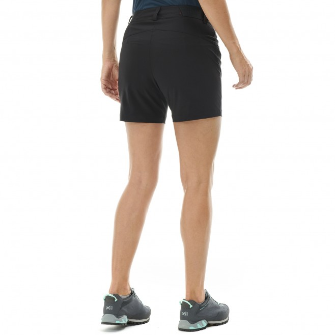 Short für Damen - schwarz WANAKA STRETCH SHORT II W  Millet 3