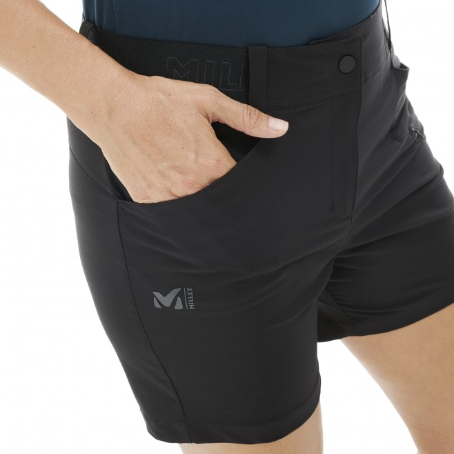 Short für Damen - schwarz WANAKA STRETCH SHORT II W  Millet 4