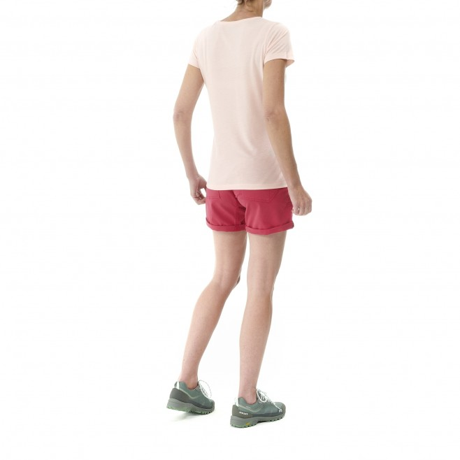 Short für Damen  - rot WANAKA STRETCH SHORT II W Millet 3