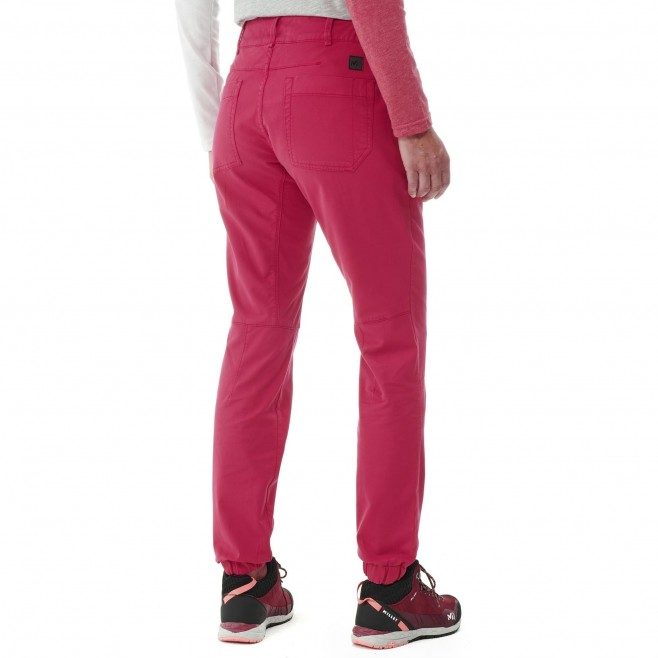 Hose für Damen - rot RED WALL STRETCH PANT W Millet 5