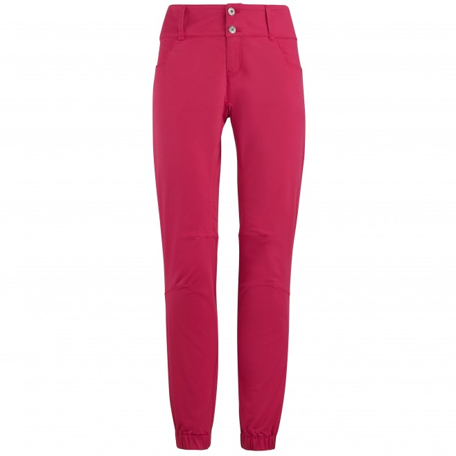 Hose für Damen - rot RED WALL STRETCH PANT W Millet