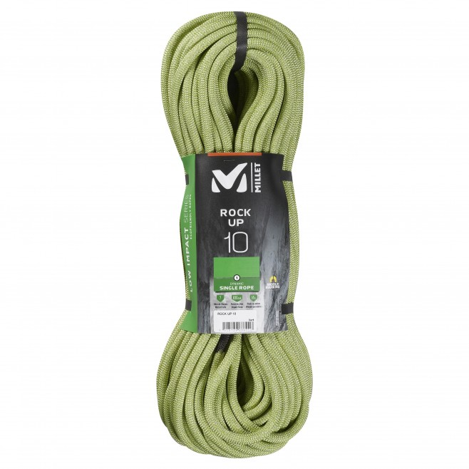 Seil  - grün ROCK UP 10mm 40m Millet
