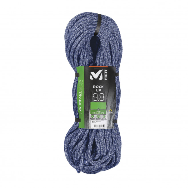 Seil - blau ROCK UP 9,8mm 70m Millet