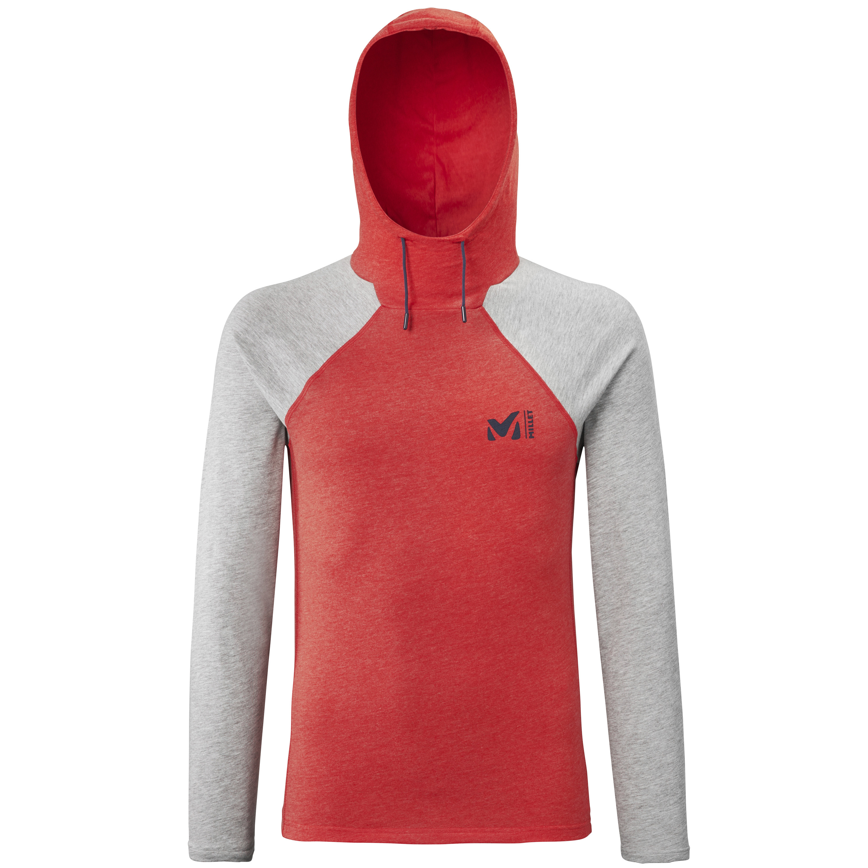 Red Wall Hdie M Fire/Heather Grey