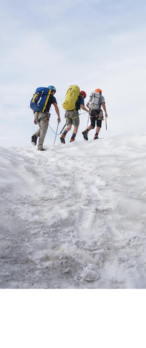 Advanced Alpine Guide Course im Staat Washington