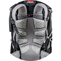 MIL-Alpine trek adjustable back