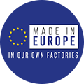 MIL-Made in Europe in our own factories