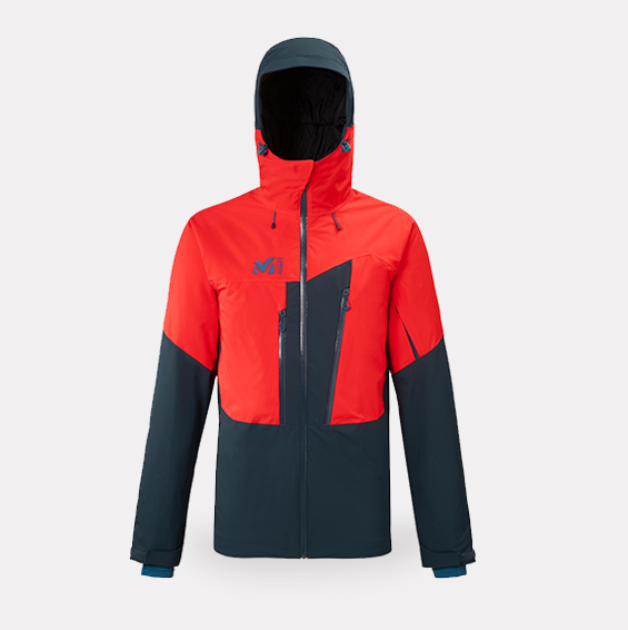 Millet - Ski freeride Veste M WHITE WARM 2L JACKET